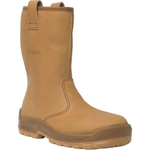 Jallatte Jalfrigg J0652 Tan Brown Safety Boots